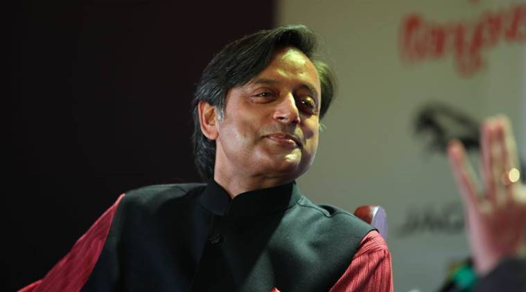 Shashi Tharoor Cites Rss Source Modi A Scorpion On Shivling Can T