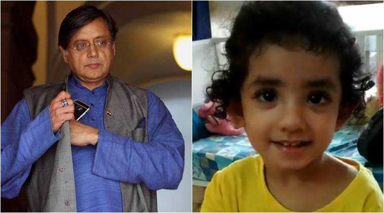 shashi tharoor, floccinaucinihilipilification challenge, floccinaucinihilipilification pronounciation, kids floccinaucinihilipilification challenge, viral challenge, indian express