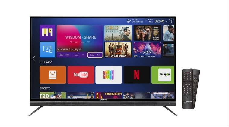 videotex, videotex shinco, shinco 4K UHD Smart LED TV, shinco 4K UHD Smart LED TV price in India, shinco 43-inch 4K UHD Smart LED TV price in India, shinco 4K UHD Smart LED TV features, shinco 4K UHD Smart LED TV specifications, shinco 49-inch 4K UHD Smart LED TV price in India, shinco 55-inch 4K UHD Smart LED TV price in India, Android Nougat, Sensy, shinco