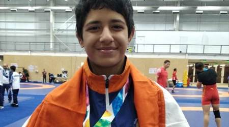 Youth Olympics 2018: Wrestler Simran wins silver in women's freestyle 43kg category