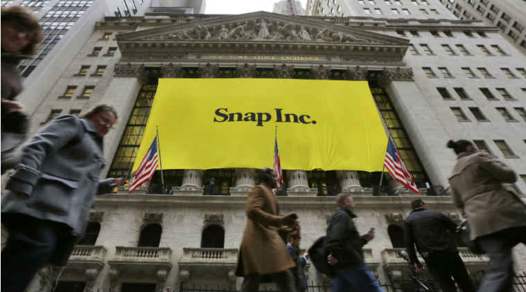Snapchat goals, Snap Inc Snapchat memo, Snapchat app redesign, Evan Spiegel Snapchat, Snapchat monthly active users, European Union GDPR, Snapchat app on Android, Snap Inc share price