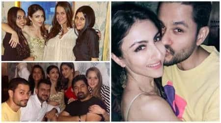 Soha Ali Khan 40th birthday party inside photos