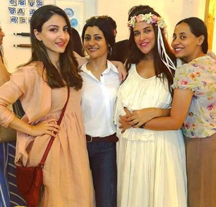 Neha Dhupia baby shower