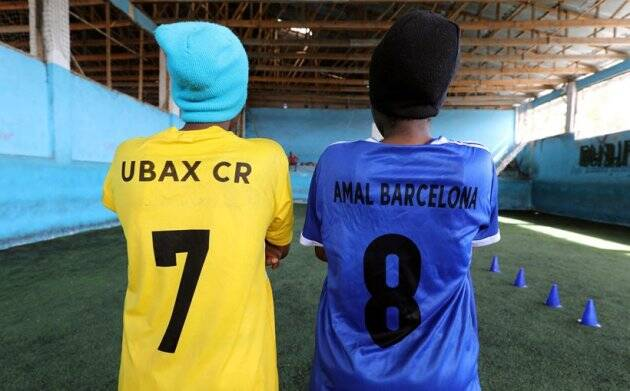 Somalia's first female soccer club score a breakthrough for gender equality