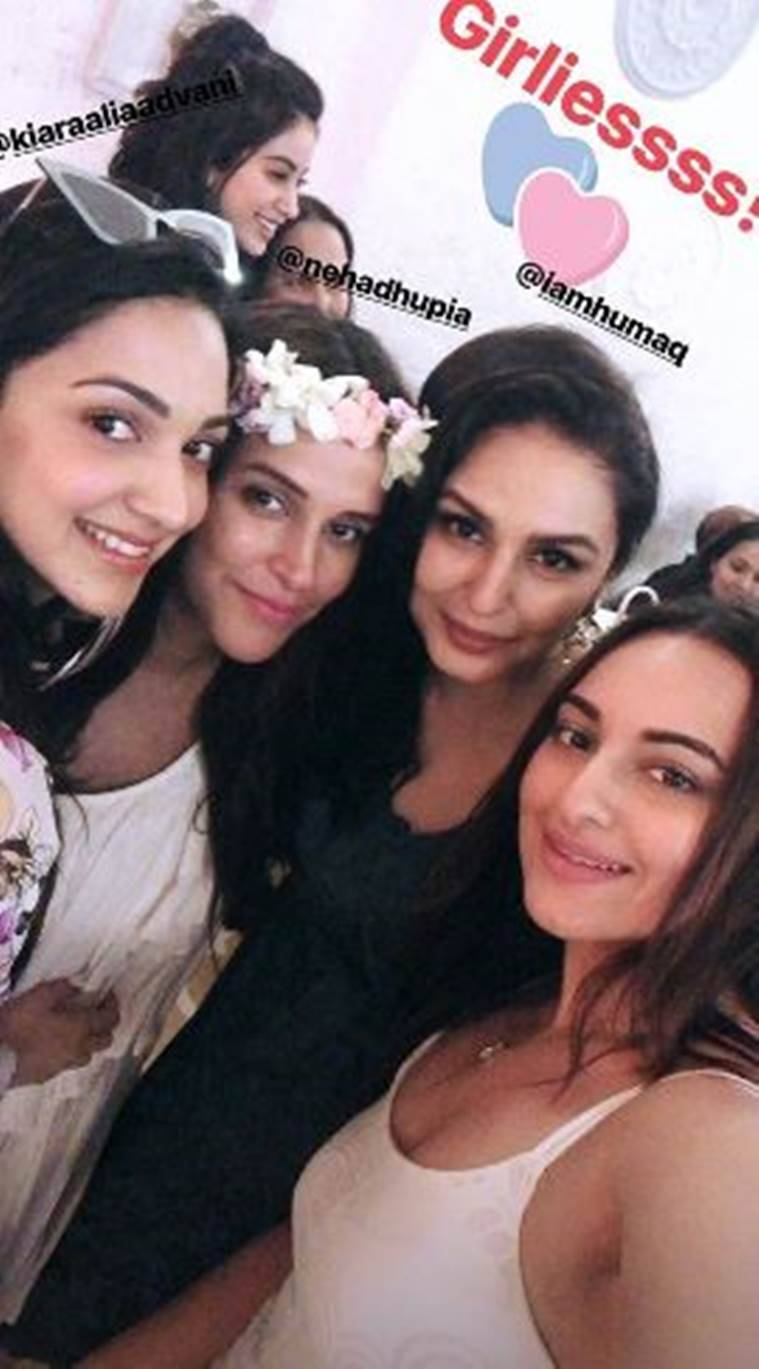 Neha Dhupia baby shower