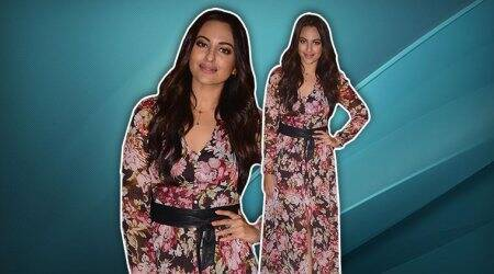 Sonakshi Sinha shows how to wear floral prints using this style trick; see pics