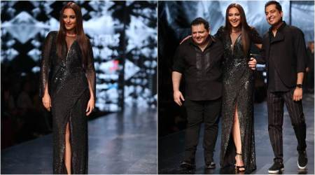 Lotus Make-Up India Fashion Week: Sonakshi Sinha looks like a vision as she walks the ramp