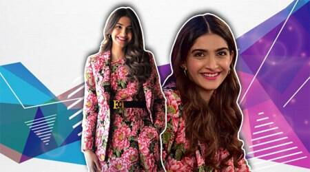 Sonam Kapoor effortlessly pulls off floral on floral; see pics