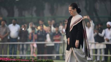 Those in power have contempt for Nehru, we must honour him by safeguarding democracy: SoniaGandhi