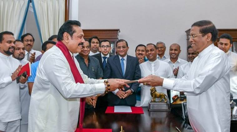 Sudden regime change in Sri Lanka: Mahinda Rajapakse is back, now as PM