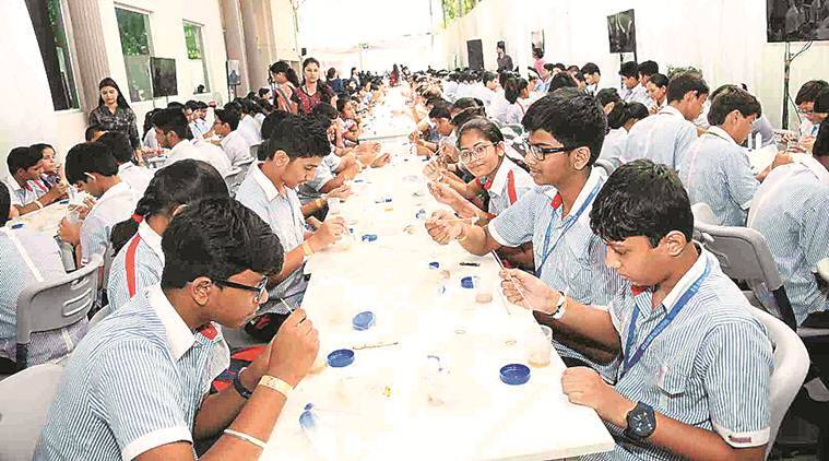 Lucknow: How 550 students isolated DNA from bananas to create Guinness World Record