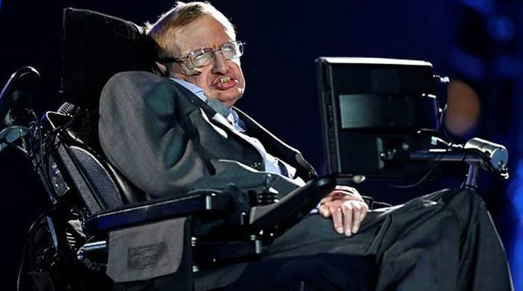 Stephen Hawking communicated through a voice-generating computer and moved in a series of high-tech wheelchairs.