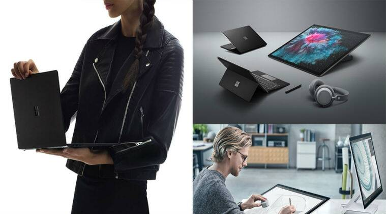 Microsoft Surface Pro 6, Microsoft Surface Pro 6 price in India, Microsoft Surface Pro 6 release date, Microsoft Surface Pro 6 specifications, Microsoft Surface Laptop 2, Microsoft Surface Laptop 2 price in India, Windows 10, Microsoft Surface Studio 2, Microsoft Surface