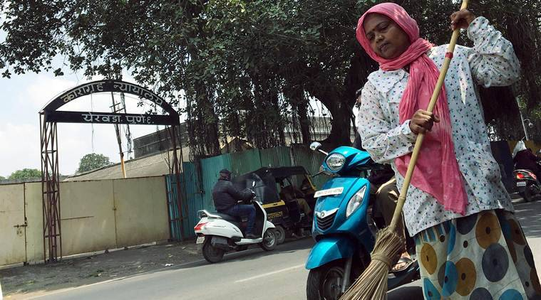 Mahatma Swachh Bharat — Outside Yerawada jail: 'I was a maid, a slave... this is far more respectable'