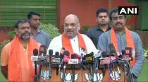 Swami Paripoornananda joins BJP, says have joined the party as a 'Karamyogi'