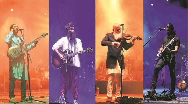 Music, Music band, folk fusion, fusion music, folk rock, Swarathma, Raah-e-Fakira, social issues, Indian Express