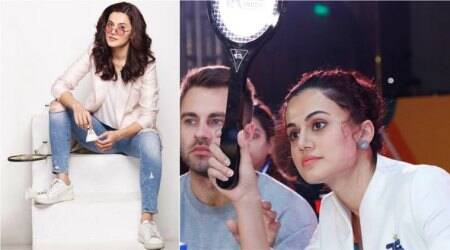 Taapsee Pannu on owning a badminton team: It is taking my love for sports to the next level