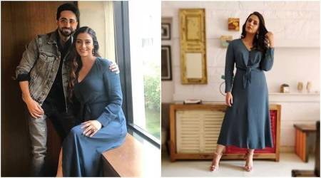 Tabu and Huma Qureshi pick the same Massimo Dutti dress; see pics