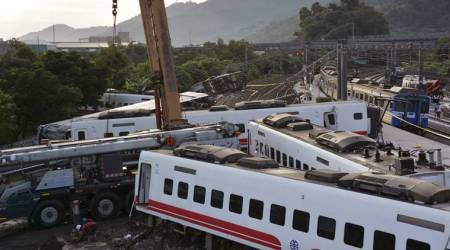 """Taiwan train accident: Speed control on train """"malfunctioned"""" before deadly accident, say investigators"""