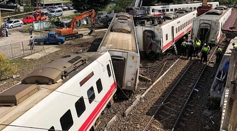 taiwan train accident, taiwan train derailment, train accident in taiwan, train derailment in taiwan, taiwan train tragedy, tsai ing-wen, taiwan news