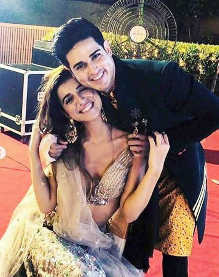 priyank with benafsha