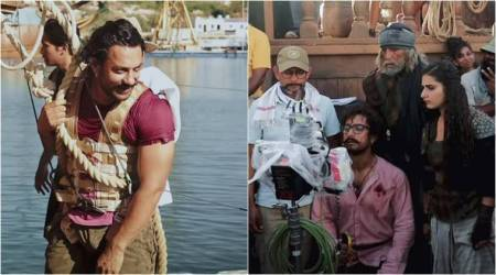 Thugs of Hindostan making video 2: Here's how artificial rain and storm were created on the ships