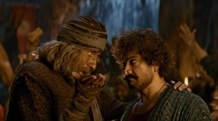 Thugs of Hindostan song Vashmalle shows Aamir Khan, Amitabh Bachchan making merry