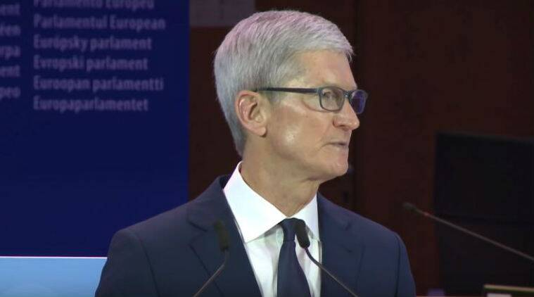 Apple, Tim Cook, Apple CEO Tim Cook, Tim Cook keynote privacy conference, privacy conference Brussels, International Conference of Data Protection and Privacy Commissioners, privacy laws, privacy protection, GDPR, General Data Protection Regulation