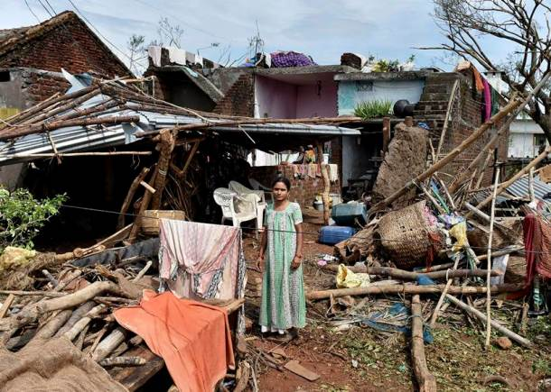 Cyclone Titli claims 16 lives in Odisha, 8 in Andhra Pradesh
