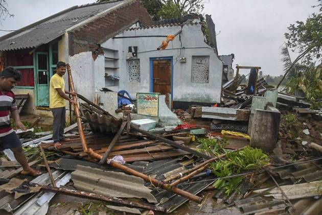 Cyclone Titli claims 8 lives in Andhra Pradesh, causes widespread damage in Odisha