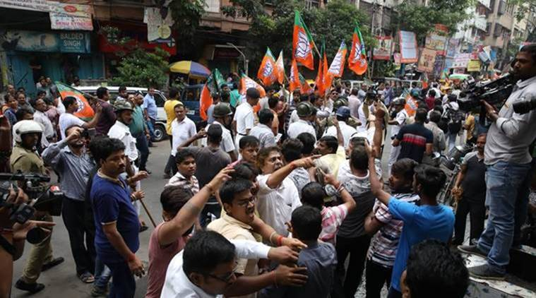 Kolkata: 18 BJP workers detained during rally, later released
