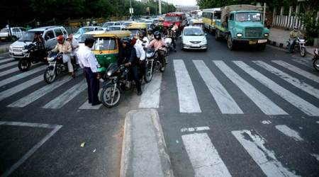pedestrians death, bikers death, road accidents, road fatalities, report on road fatalities, death count, road safety, indian express