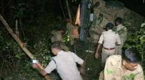 Tripura: 13 TSR jawans critically injured in bus accident, CPI(M) claims miscreants attacked vehicle