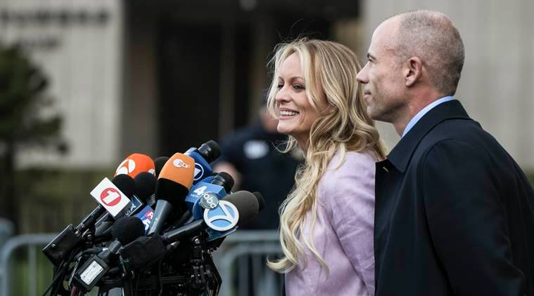 stephanie Clifford whose stage name is Stormy Daniels