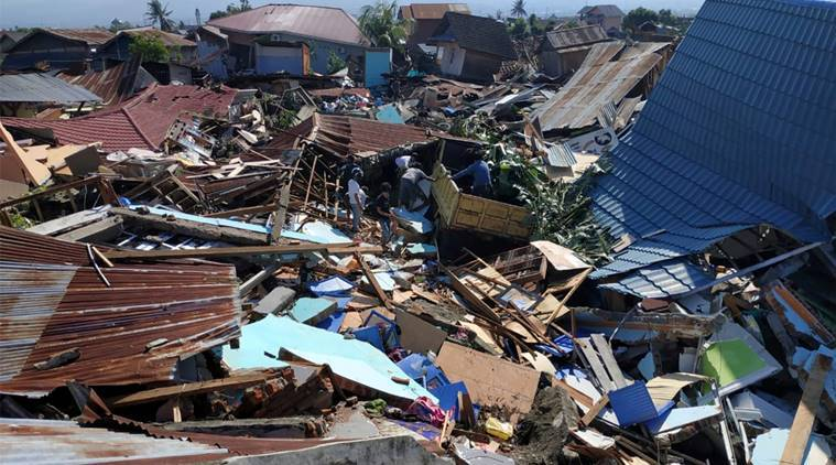 Indonesian tsunami death toll rises