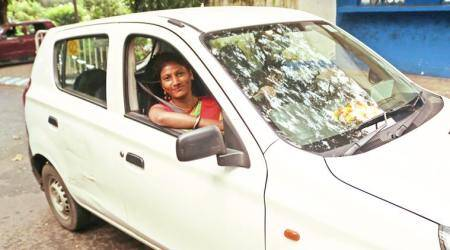 Dada na, didi… a day in the life of Uber's only female cab driver in Kolkata