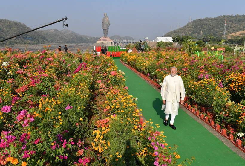 PM Modi inaugurates 'Statue of Unity' on Sardar Patel's birth anniversary