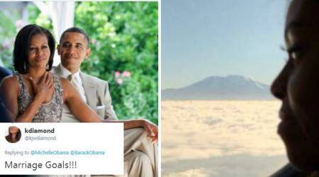 Barack Obama wishes Michelle on their 26th wedding anniversary, netizens call it#CoupleGoals