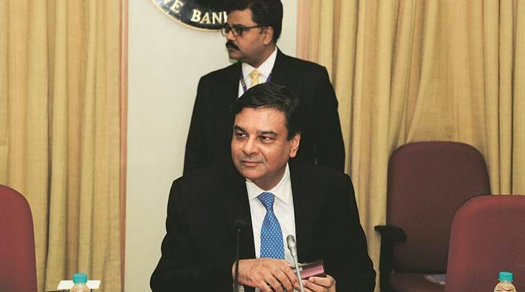 RBI Governor Urjit Patel in Mumbai Friday