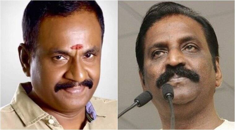 Marimuth speaks in favour of vairamuthu