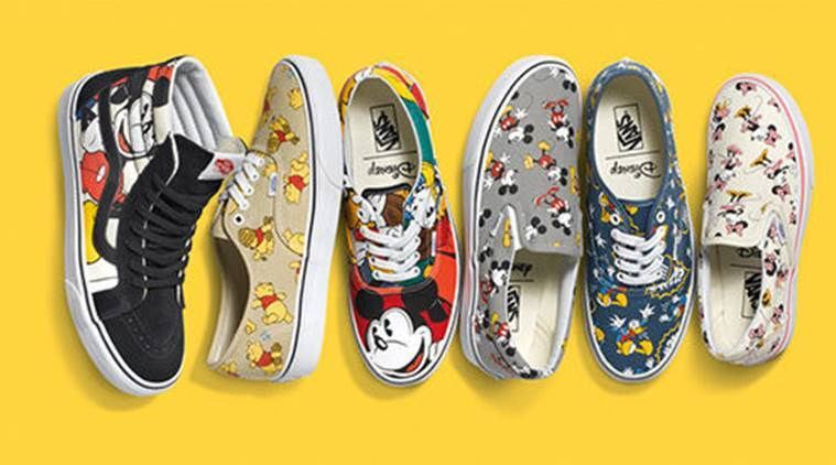 672ad35930 Vans comes up with quirky Disney range to commemorate Mickey Mouse s ...