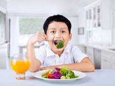 Build your child's health with colours, notwhites