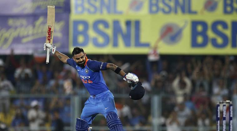 India vs West Indies, 1st ODI: Virat Kohli scores 36th ODI century