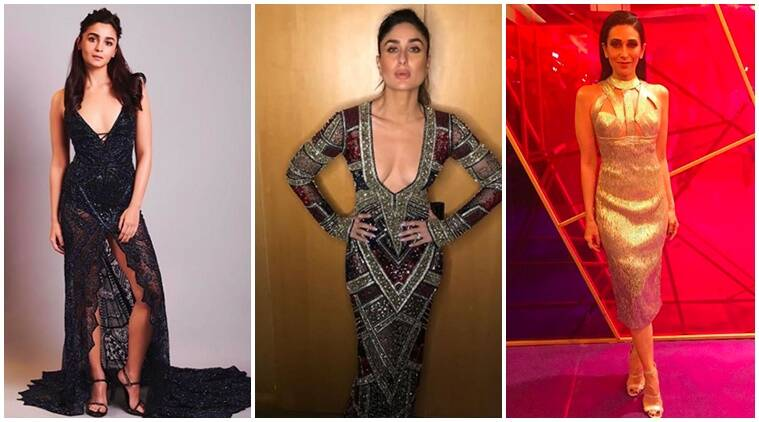 vogue women awards, kareena kapoor khan, alia bhatt, karisma kapoor, janhvi kapoor, vogue women awards pictures, indian express, indian express news