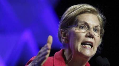 Elizabeth Warren accuses Donald Trump of 'creepy' comments about her DNA test