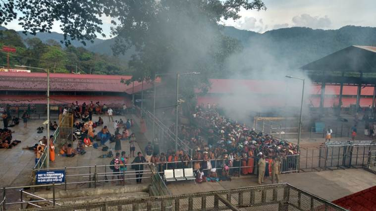Sabarimala protests: 24-hr hartal called by Hindu outfits end up hurting pilgrims