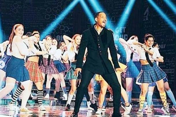 will smith photo on student of the year sets