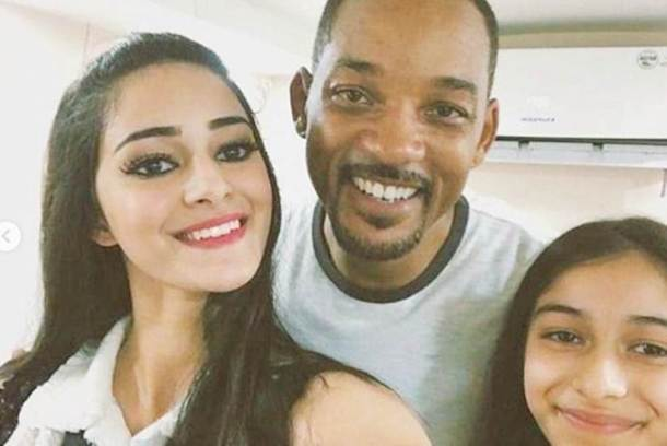 ananya pandey and will smith