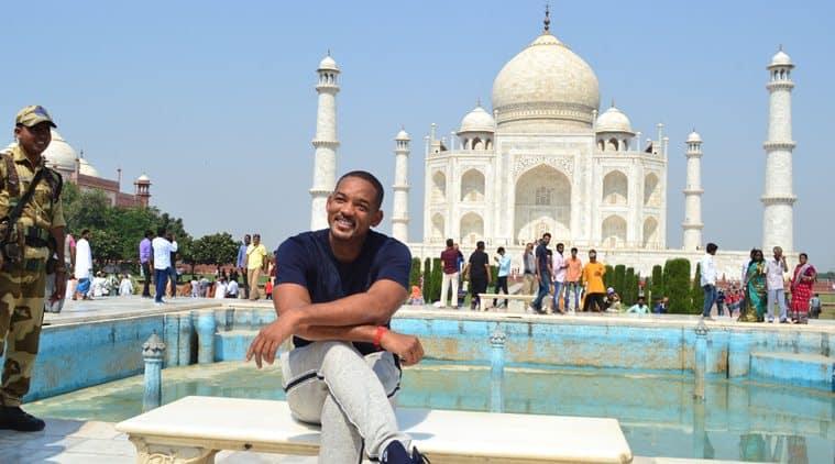 Will Smith visits Taj Mahal