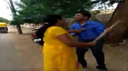 Karnataka woman thrashes bank manager for demanding sexual favours, video goes viral
